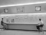 Control Room of the Wind Tunnel at Lewis Flight Propulsion Laboratory Posters