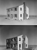 Nuclear 'Operation Cue' Tested Buildings' Ability to Survive Atomic Bombs Photographic Print
