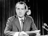 President Richard Nixon Announced the Imposition of Wage and Price Controls for 90 Days Photographie