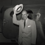 1952 Presidential Nominee Adlai Stevenson Arriving at the Democratic National Convention, Chicago Print