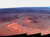 Mosaic Image of Mars Taken by NASA's Mars Exploration Rover 'Opportunity', January 2012 Photo