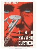 Star Trek Episode 77: The Savage Curtain TV Poster Prints by Juan Oritz