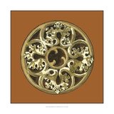 Graphic Medallion II Prints by  Vision Studio