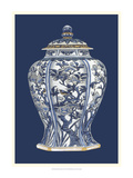Blue and White Porcelain Vase I Giclee Print by Vision Studio