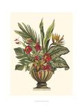 Feuillage tropical dans un vase II Affiches par  Vision Studio