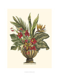 Tropical Foliage in Urn II Prints by  Vision Studio