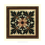 Crackled Square Wood Block IV Giclee Print by Vision Studio
