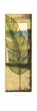 Seaside Palms V - Gold Leaf Prints by Jennifer Goldberger