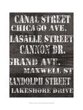Streets of Chicago II Posters by Andrea James