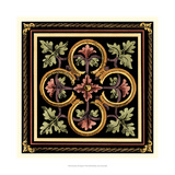 Crackled Decorative Tile Design IV Giclee Print by Vision Studio