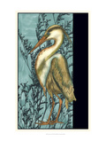 Heron in the Grass II Poster by Jennifer Goldberger