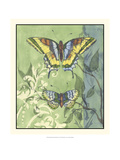 Embellished Vibrant Butterflies II Posters by Jennifer Goldberger