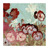 Tokyo Rose II Premium Giclee Print by  Vision Studio