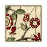 Megan Meagher - Floral Mosaic II - Reprodüksiyon