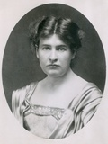 Writer Willa Cather in 1902 at the Age of 28 Print