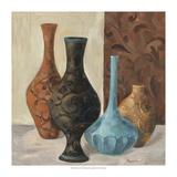 Spa Vases II Premium Giclee Print by Marietta Cohen