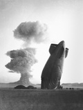 The Stokes Shot Was a 19 Kiloton Explosion Detonated While Suspended from Barrage Balloons Photographic Print