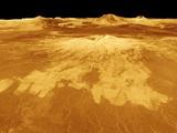 Volcano Named Sapas Mons on Venus Photographic Print