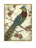 Embroidered Pheasant I Affiches par Chariklia Zarris