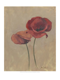 Blooms and Stems II Premium Giclee Print by Marietta Cohen