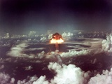 The King Shot Was a 500 Kilotons Nuclear Bomb Stampa fotografica