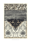Damask Composition III Posters by Ethan Harper