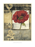 Poppy Poetry I Posters by Jennifer Goldberger