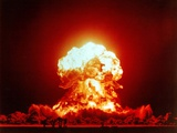 The Badger Shot Was a 23 Kiloton Nuclear Bomb Stampa fotografica