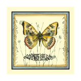 Butterfly and Wildflowers IV Posters by Jennifer Goldberger