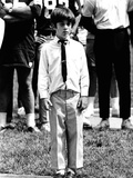 Eight-Year-Old John F Kennedy Jr at Dedication of Robert F Kennedy Stadium, Jun 10, 1969 Photo