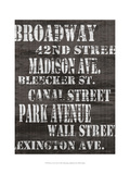 Streets of New York I Posters by Andrea James