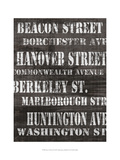 Streets of Boston II Posters by Andrea James