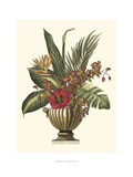 Tropical Foliage in Urn I Poster by  Vision Studio