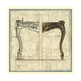 Furniture Sketch I Prints by Vision Studio