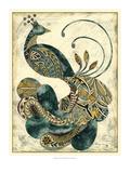 Royal Peacock Plakat autor Chariklia Zarris