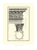 B&W Column and Cornice II Prints by Giovanni Borra