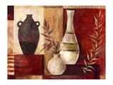 Spice Vases I Premium Giclee Print by Marietta Cohen