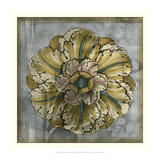 Rosette and Damask IV Giclee Print by Jennifer Goldberger