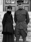 Mamie Eisenhower and Dwight Eisenhower Photographic Print