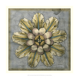 Rosette and Damask II Giclee Print by Jennifer Goldberger