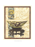 Asian Tapestry I Posters by  Vision Studio