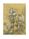 Etched Floral II Premium Giclee Print by Megan Meagher