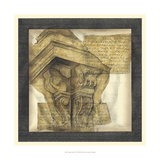Antique Capitals I Premium Giclee Print by Jennifer Goldberger