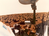 Viking 1 on the Martian Surface on July 24, 1976 Photo