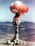 The Charlie Shot Was a 14 Kiloton Nuclear Bomb Dropped from a B-50 Bomber at Yucca Flat Posters
