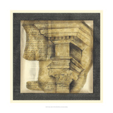 Antique Capitals IV Giclee Print by Jennifer Goldberger