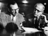 Frank Costello During Kefauver Committee Hearings in NYC Photo