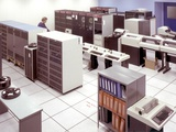 Room Size Computer at NASA&#39;s Ames Research Center, Feb 16, 1990 Photographic Print