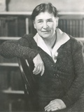 Willa Cather at the Time She Wrote Lucy Gayheart, Photo by Nicholas Muray, ca 1935 Photo
