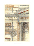 Classical Architecture II Print by  Vision Studio